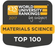 2017 QS World Subject Ranking Material Sciences Top 100