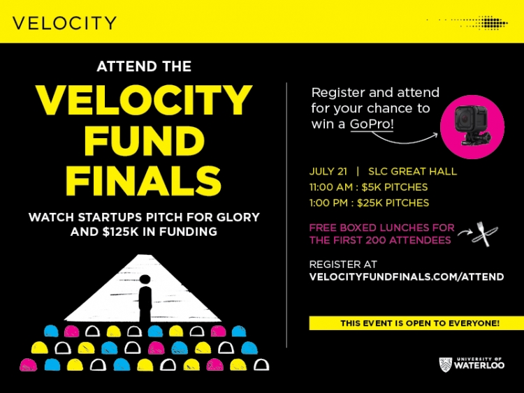 Spring 2016 Velocity Fund Finals poster