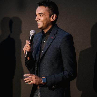 Portrait of Praveen Arichandran