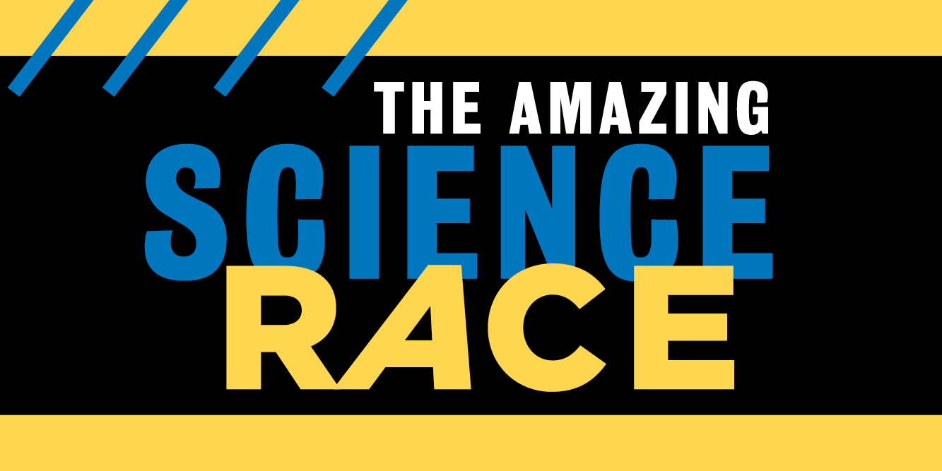 amazing science race banner