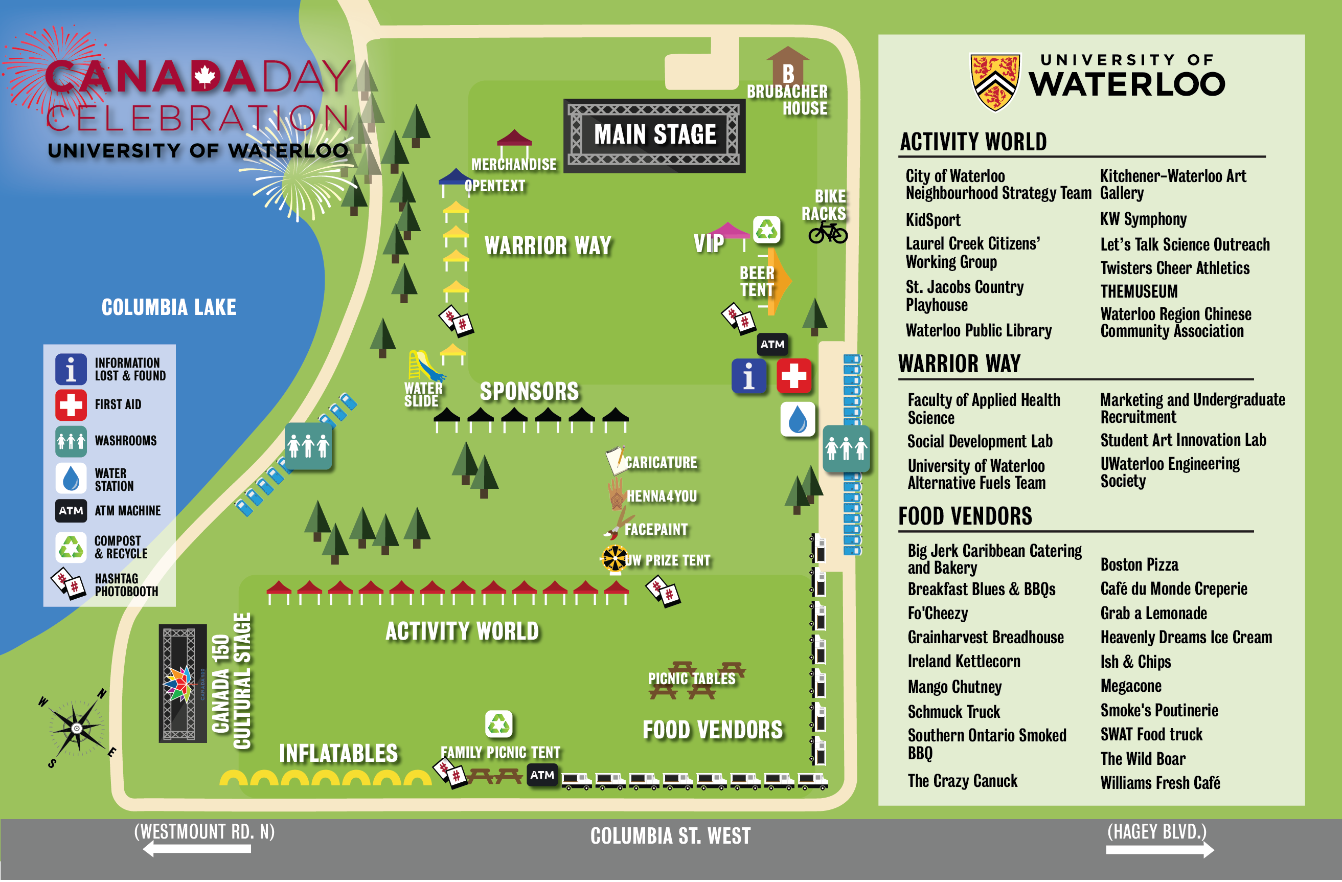 Canada Day Map 2017