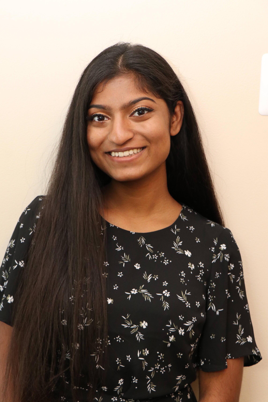 Ravicha smiling