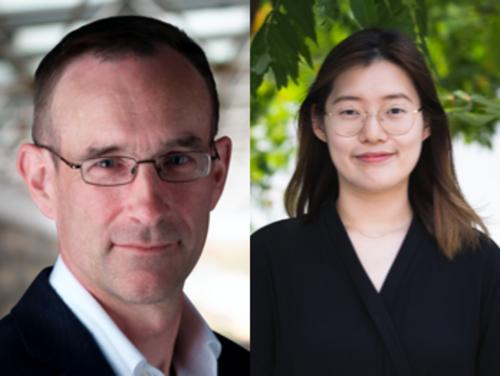 Raymond Laflamme and Cindy Yang