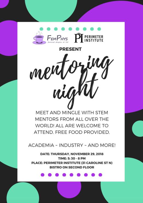 Mentoring Night Poster - Femphys