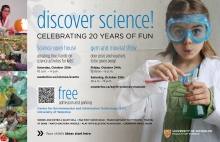 Science Open House poster
