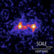 colour image of dark matter