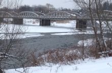 The Grand River, Kitchener, Ontario