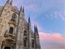 Milan Cathedral, photo taken by student on exchange