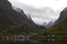 Nærøyfjord, photo taken by student on exchange