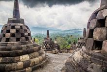 borobudur temple, picture taken by student on exchange