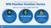 Anna Klinkova Group - WIN Seminar Series graphic.