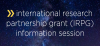 International research partnership grant (IRPG) information session