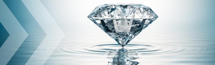 Diamond stock image