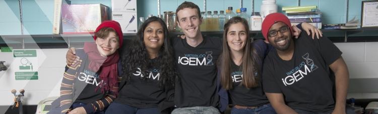 The 2014 Waterloo iGem team