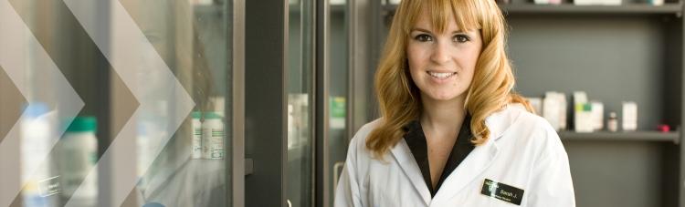 Sarah Johnson, a pharamcy coop student