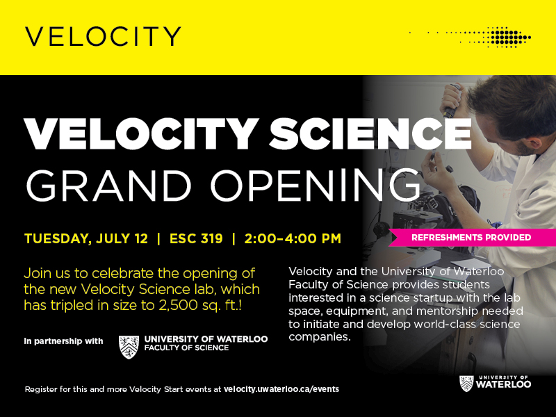 Velocity Science Grand Opening