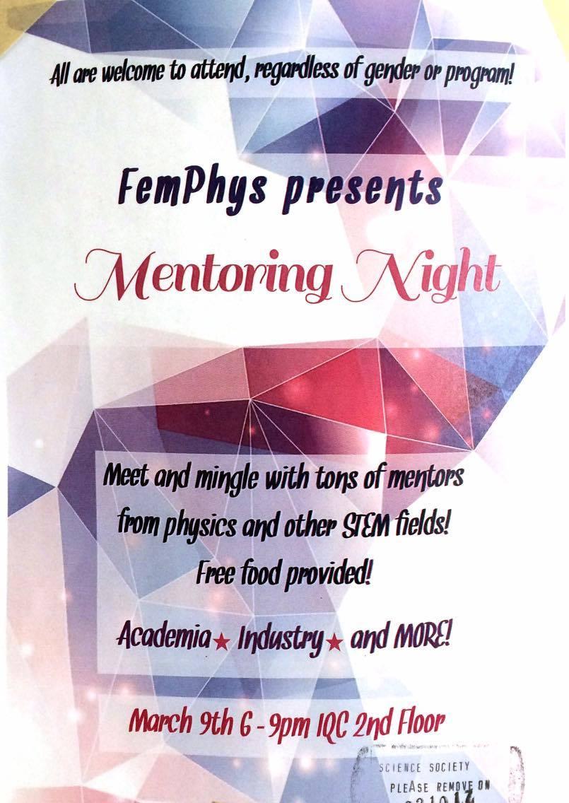 Mentoring Night poster