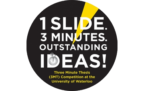 3 Minute Thesis Competition logo