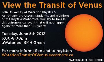Transit of Venus small poster