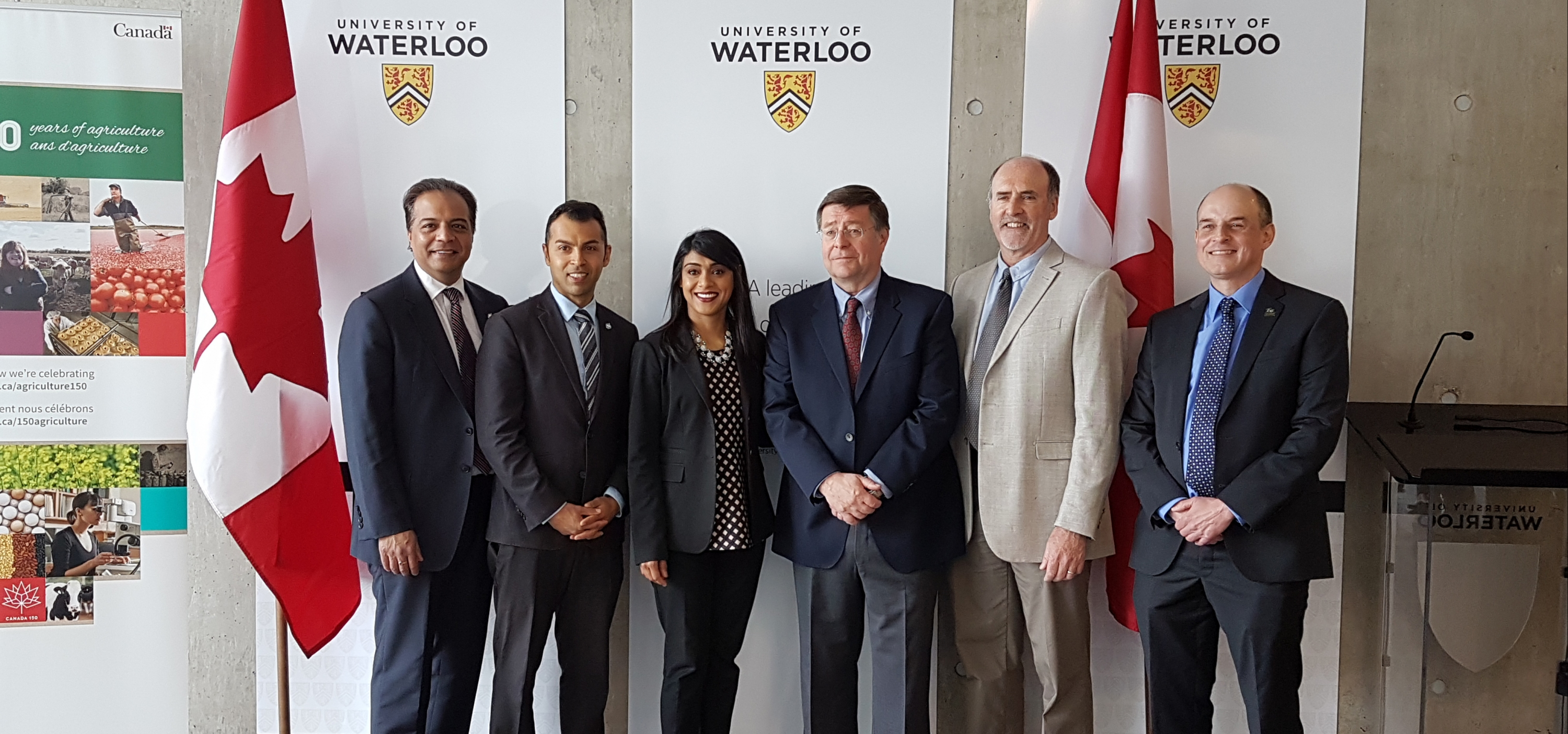 Bardish Chagger announces $1.9M funding for sustainable agriculture.
