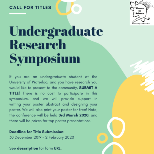 WiS research symposium call for submissions
