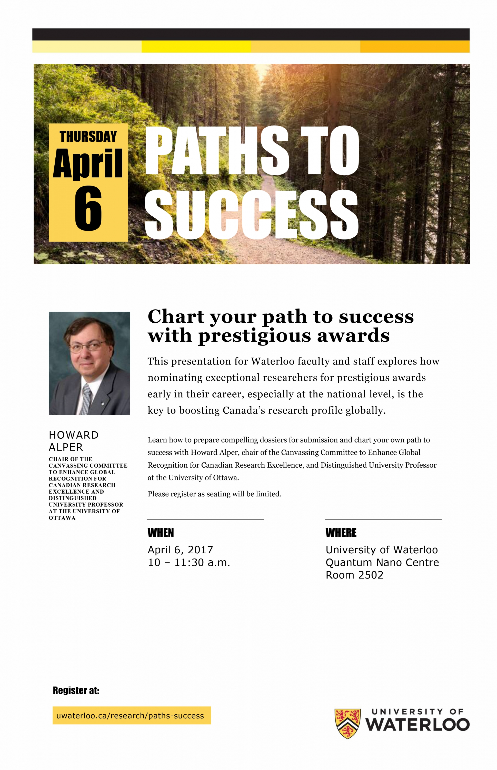 Chart your path to success poster