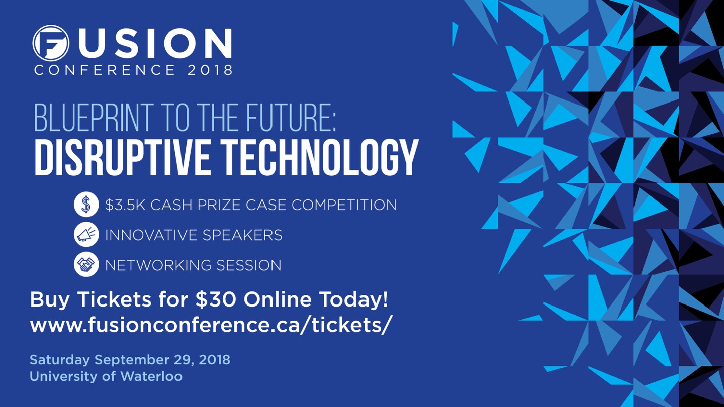 Fusion Conference 2018: Disruptive Technology