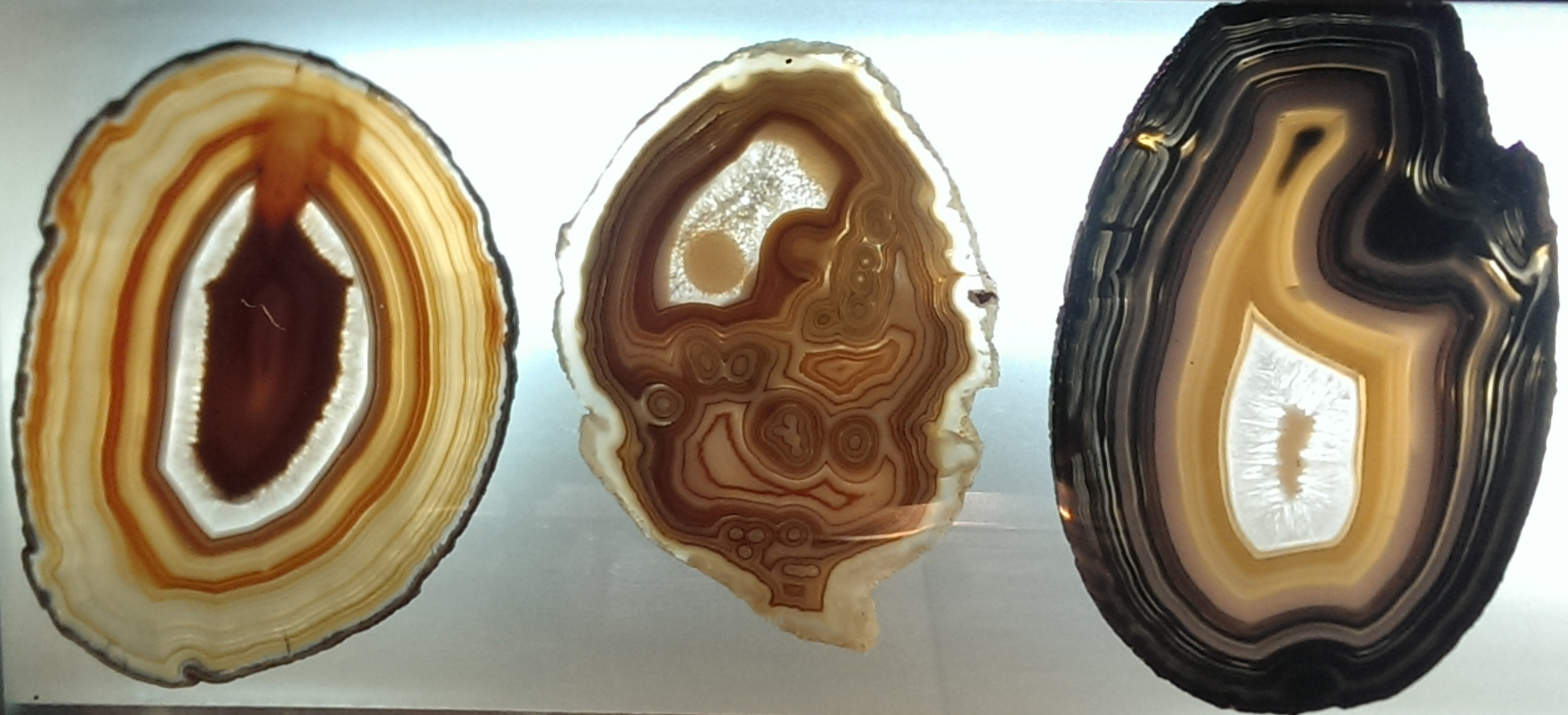 Agate samples