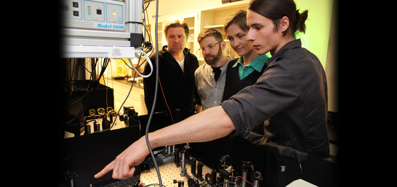 Kevin Resch, Robert Spekkens, Katja Ried and Jean-Philippe MacLean.