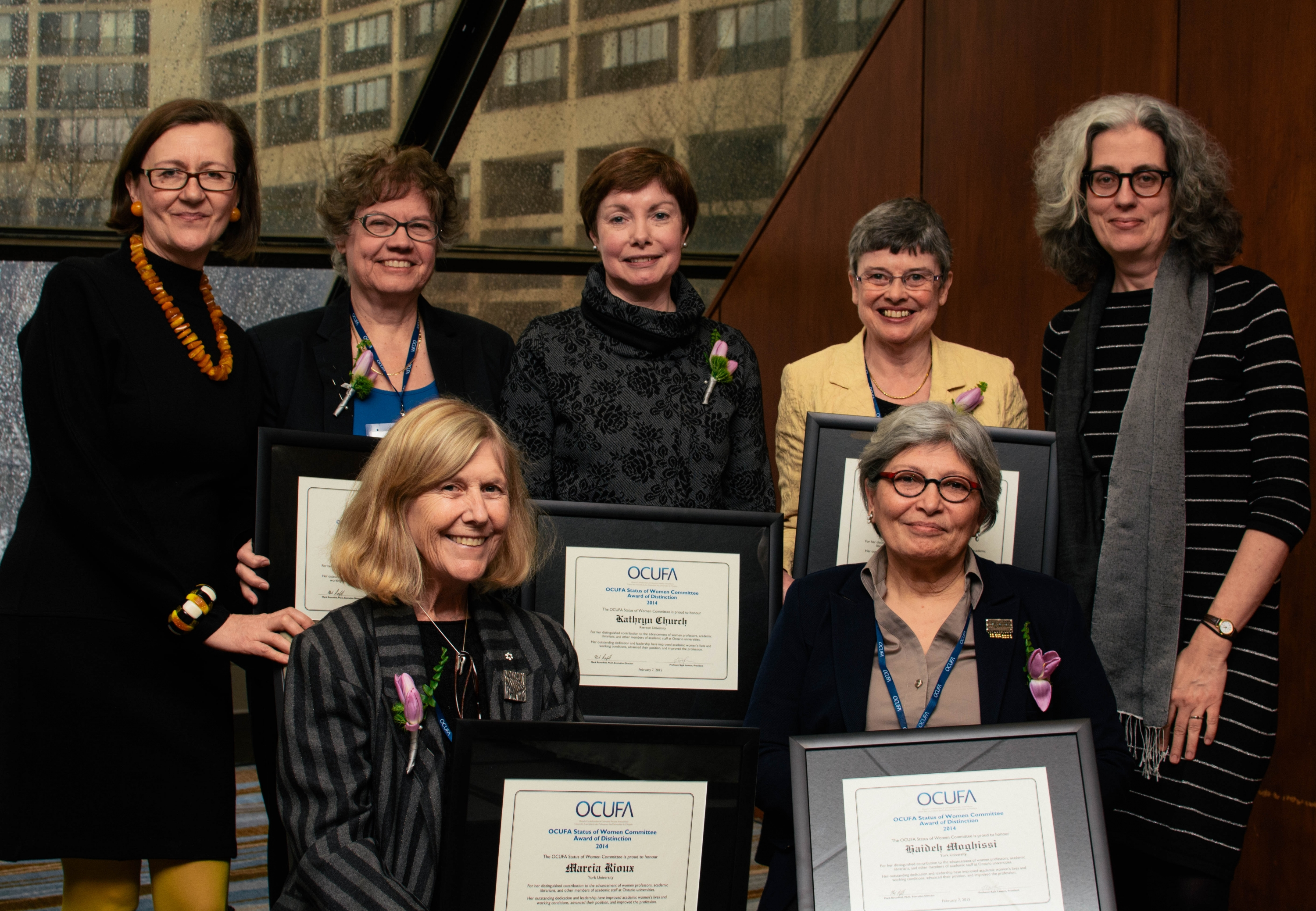 2015 Status of Women Award Winners