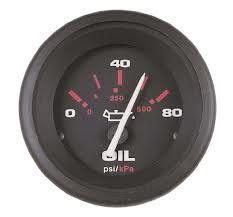 oil pressure indicator