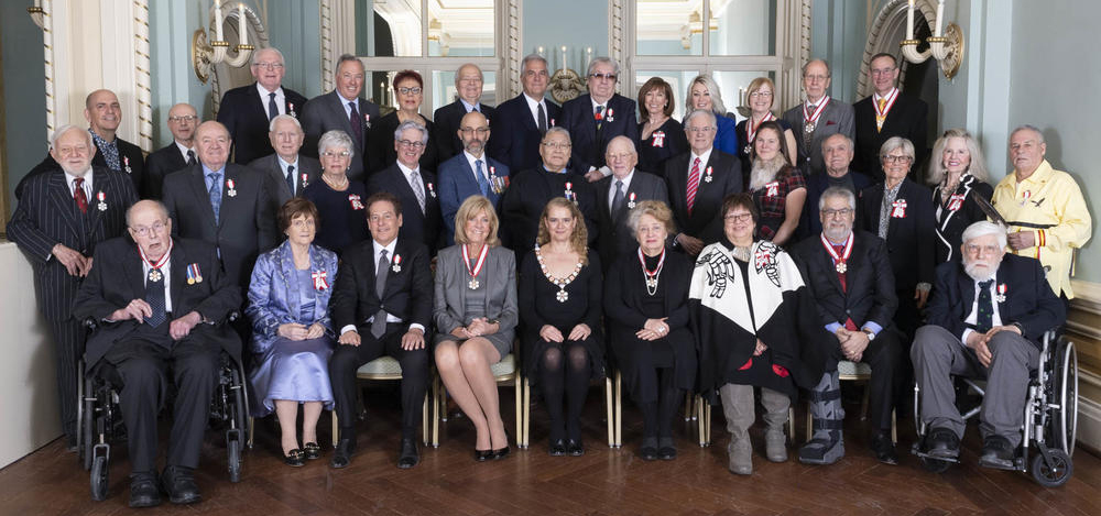 Order of Canada recipients group photo