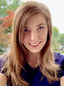 Headshot of April Pawluk