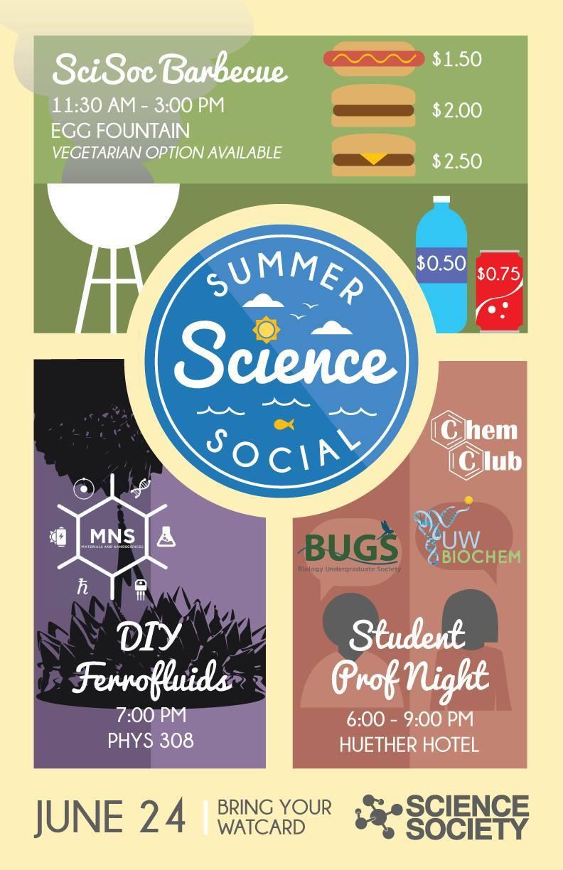 Summer Science Social