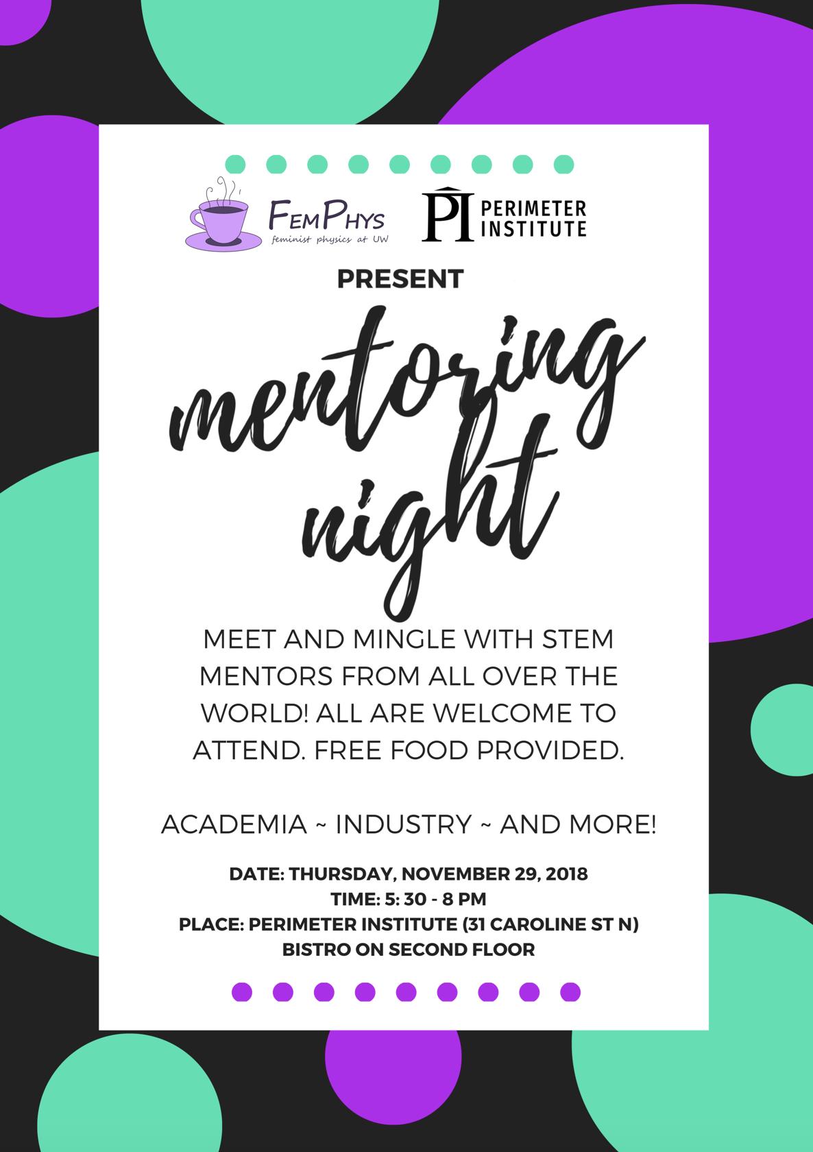 Mentoring Night Poster Details