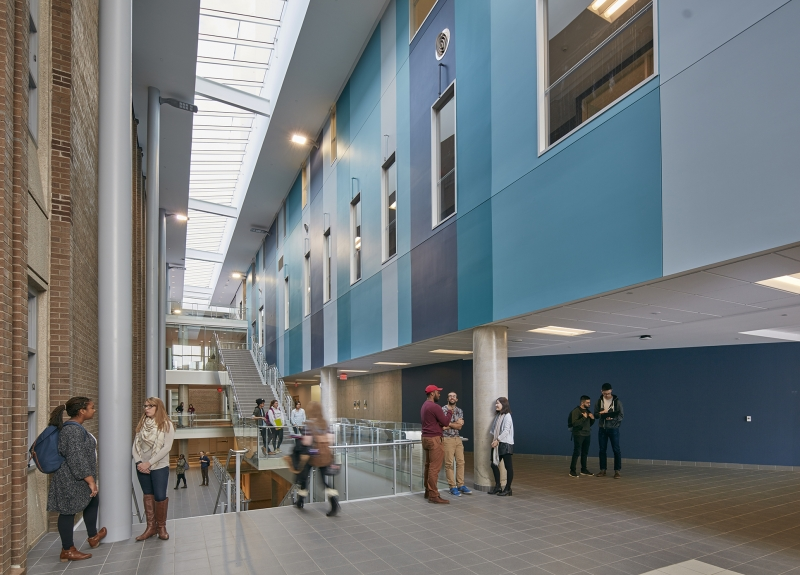 Science Teaching Complex Foyer