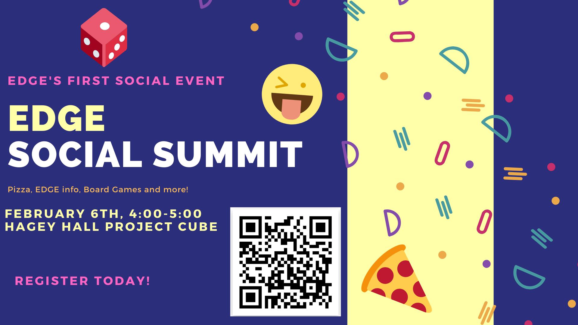 EDGE social summit poster