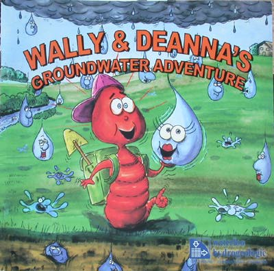 """Wally & Deanna Groundwater Adventure"" book cover"