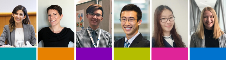 Headshots of all six 2019 Co-op Student of the Year recipients