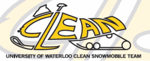 Clean Snowmobile Logo