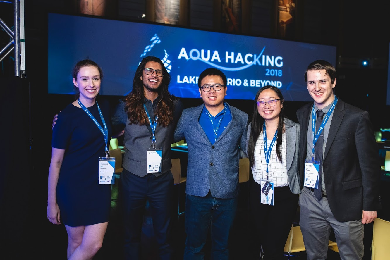 Team wins prize at AquaHacking event