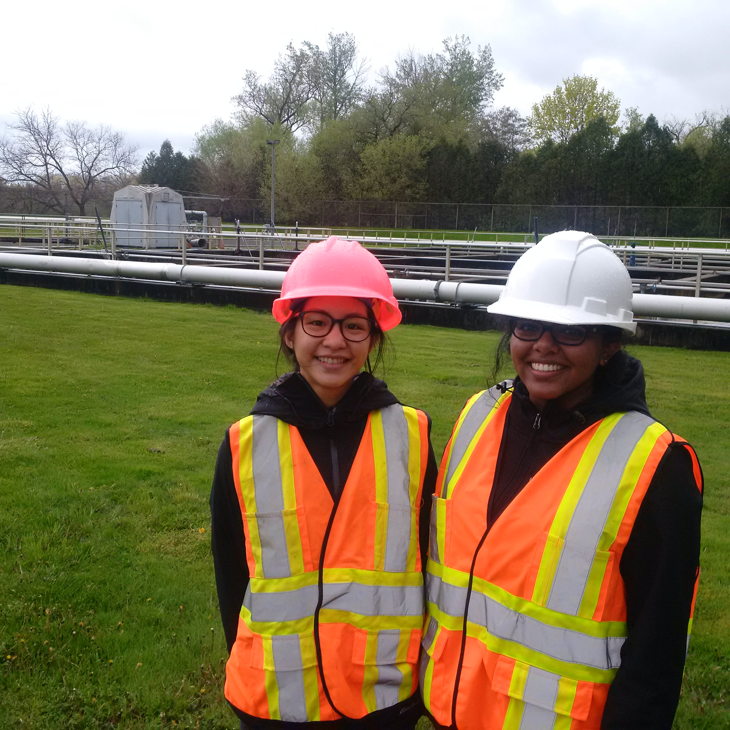Visiting a wastewater treatment plant