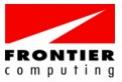 Frontier computing logo
