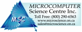 Microcomputer science centre logo