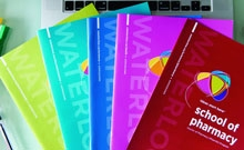 Waterloo's viewbooks in the faculty colours