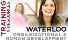 Organizational and human  development at Waterloo