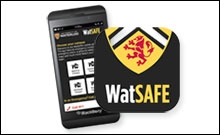 screen shot of watsafe on a phone