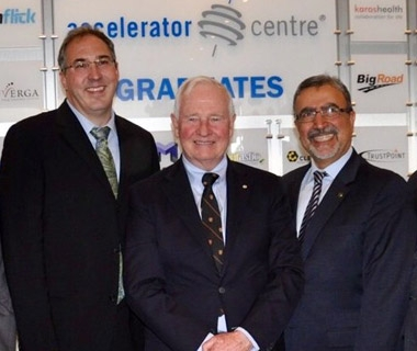 The Governor General attends the Accelerator Centre 10th anniversary open house