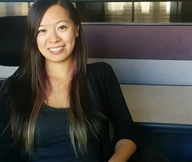 Engineering grad Audrey Chung