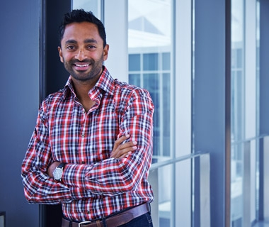 Waterloo alumnus and venture capitalist Chamath Palihapitiya